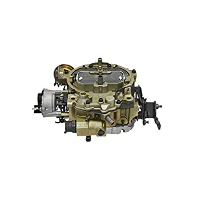 "A-Team Performance 1904GG""OEM GREEN"" Remanufactured Rochester Quadrajet Carburetor 4MV Compatible with 1980-1989 GM Chevy Chevrolet Electric Choke Carb: Automotive"