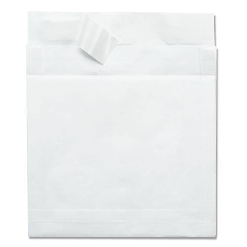 R4610 Quality Park Lightweight Expansion Envelope - Expansion - 10'' x 13'' - 14 lb - Self-sealing - Tyvek - 100/Carton - White by Quality Park