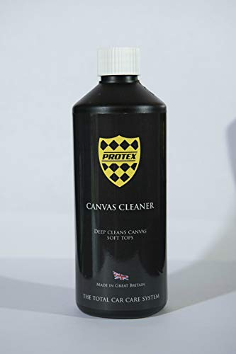 Protex World Convertible Soft Top Canvas Cleaner 500ml - Deep Cleans and Prevents Green Mildrew