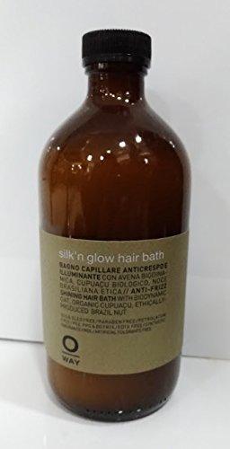 OWAY SILK N GLOW HAIR BATH BAGNO CAPILLARE ANTICRESPO E ILLUMINANTE 500ML b6f84d53a5cd