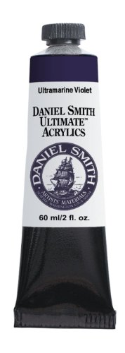 Daniel Smith 60ml Ultimate Acrylic Paint Tube, Ultramarine Violet