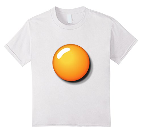 Kids Fried Egg Shirt Funny DIY Halloween Costume Ideas Egg Yolk 12 (90's Halloween Costumes Ideas)