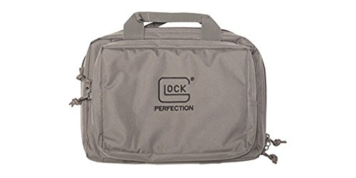 Glock OEM Double Pistol Case Grey Stock Accessories ()
