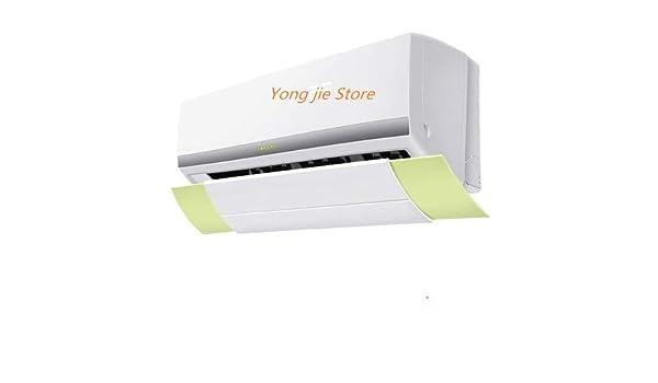 LIUSBAO-KT, Campana de aire acondicionado elcópica, partes del aire acondicionado del ventilador de escape Piezas del aire acondicionado del deflector del deflector del viento (Color : Amarillo) : Amazon.es: Hogar