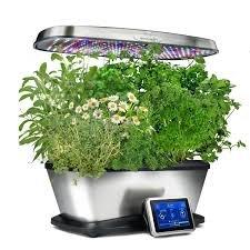 Aerogarden Bounty Elite Wi-Fi Stainless Steel Indoor Garden with Cherry Tomato Kit by AeroGrow (Image #9)