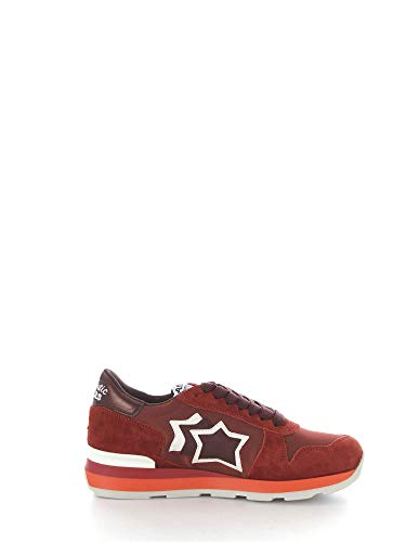 Stars Atlantic Rosso Tessuto Gemmabr48bm1142 Donna Sneakers TnrWBnd