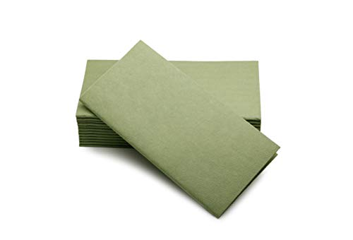 Simulinen Colored Napkins - Decorative Cloth Like & Disposable Dinner Napkins - Soft, Absorbent & Durable - 16