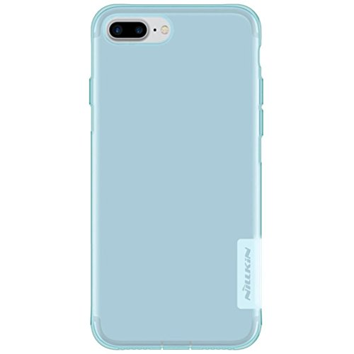 For iPhone 7 Plus Case, HP95(TM) Simple Ultra Thin Clear Soft TPU Rubber Case Back Cover For iPhone 7 Plus 5.5Inch (Blue) (Plus Spigen Cs 6 Iphone)