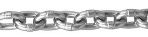 ASC MC016408015 Magnesium Aluminum Alloy Chain, Bright Finish, 17/64'' Trade, 17/64'' Diameter x 15' Length, 550 lbs Working Load Limit by Apex Tool Group