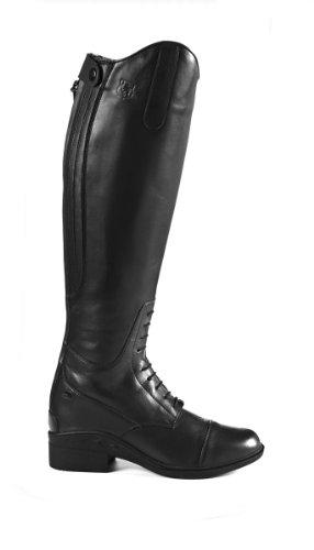 JTE Nebraska H20Damen-Reitstiefel, Schwarz, Größe 37 schwarz - schwarz