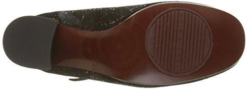 Chie Mihara Tipito - Zapatos para mujer Negro - Black (Pixy Bronce/Ante Negro)