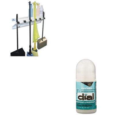 KITDPR07686EXC3336WHT2 - Value Kit - Dial Anti-Perspirant Deodorant (DPR07686) and Ex-cell The Clincher Mop amp;amp; Broom Holder (EXC3336WHT2)