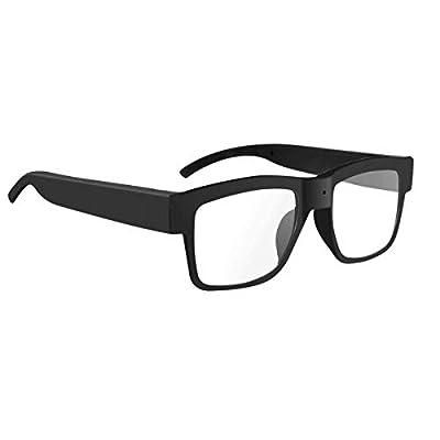 Semoic Camera Glasses 1080P Hd Video Glasses Max 32Gb Storage Card - Eyeglasses with Camera - Wearable Camera