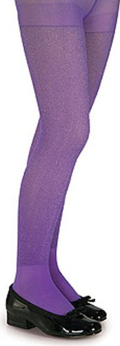 Price comparison product image Rubie's Costume Co Glitter Tights-Prple Large Costume