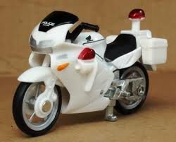 Takara Tomy 4 Honda Vfr Police Bike Toy Model Toys