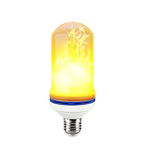 LED Flame Light Bulbs, Vintage Gas Lamp Animated Flickering Fire Effect Atmosphere Decorative Light,E27 Standard Base for Halloween,Party,Christmas Simulated Decorative Light Atmosphere Lighting Vint - Lighting Villa Traditional Chandelier