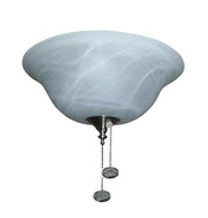 Harbor Breeze 3-Light Alabaster Incandescent Ceiling Fan Light Kit with Alabaster Shade - - Amazon.com