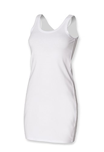SF Women - Camiseta sin mangas - para mujer blanco