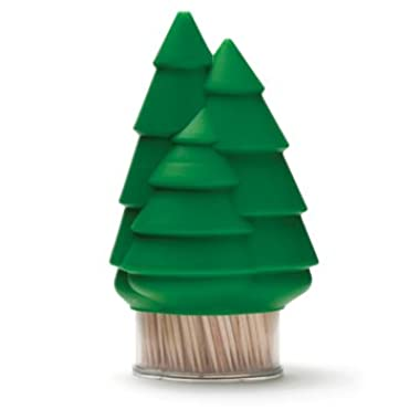 Toothpick Dispenser - Forest Tree Shaped Holder For Wooden Toothpicks