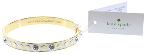 Kate Spade Spot The Spade Bangle Bracelet, Cream ()