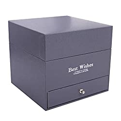Vcenty Home Decor Soap Rose Flower Jewelry Storage Gifts Box Valentine's 16Pcs/Box,Soap Flower,Soap Rose Gift Box,Soap Rose