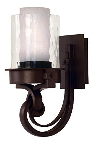 Satin Bronze Newport 1 Light Bathroom Sconce Satin Bronze