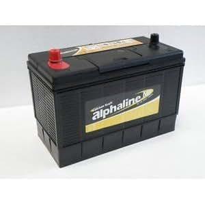 Bateria de arranque 130Ah 1000CCA bateria de tractor, bateria de barco