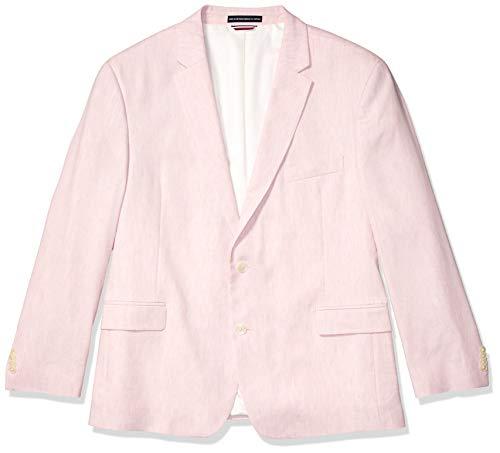 Tommy Hilfiger Men's Modern Fit Stretch Comfort Blazer, Light Pink, 46R ()