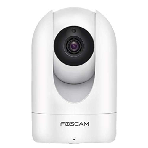 Foscam R2C WiFi Camera 1080P HD, Free Cloud Storage, Mutual Audio Dialogue,WiFi or Wired Connection, Motion/Sound Sensor, Pan/Tilt, Night Vision, IP Home Security Camera System, ()