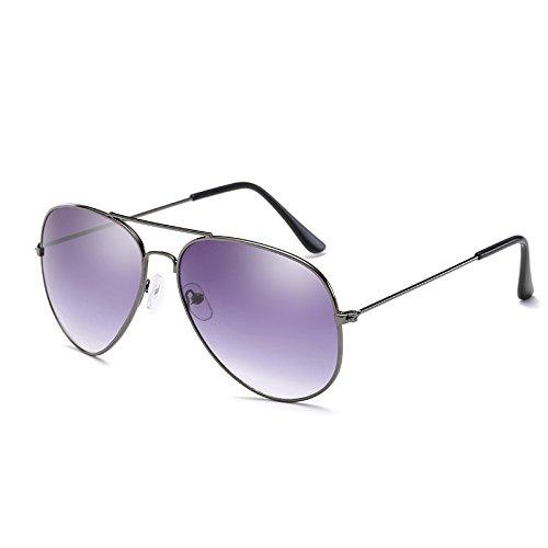 gafas sol Visión gun de masculino Gafas ZHANGYUSEN de cristal gris femenino de de Mujer gafas Gafas de Hombre Conductor noche sol conducir piloto de qxX8SB