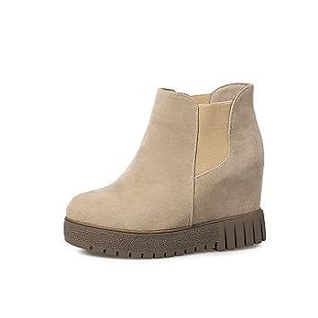 Zapatillas Desy Piel Nubuck Mujer Otoño De Ergonómico Botas Invierno qwpRwTg