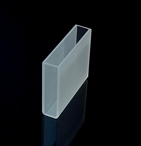 Optical Glass Cuvette, 5cm 50mm, spectrometer cell cuvettes,Large cuvette,Cell by Science Outlet