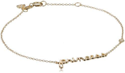 """Shy by SE """"Princess"""" Bracelet with Diamond Bezel"""