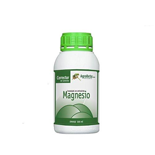 Agrobeta MAGNESIO Eco 500ml - Corrector DE CARENCIAS MAGNESIO: Amazon.es: Jardín