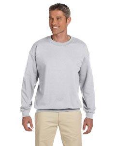 Jerzees Men's NuBlend Super Sweats Fleece Crewneck Sweatshirt, Ash, XX-Large