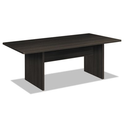 BL Laminate Series Rectangular Conference Table, 72w x 36d x 29 1/2h, Espresso, Sold as 1 Each