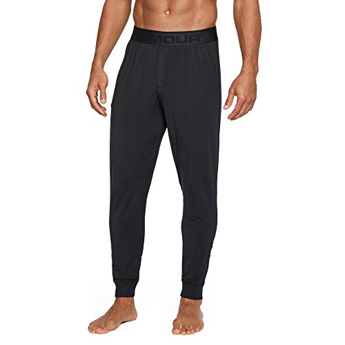 - Under Armour Men's Athlete Ultra Comfort Recovery Pants Sleepwear,Black /Carbon Heather, Medium
