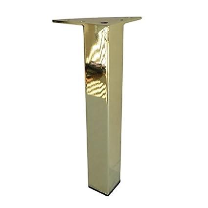 Metal Furniture Legs Metal Feet 7 H Brass Brushed Brass Chrome