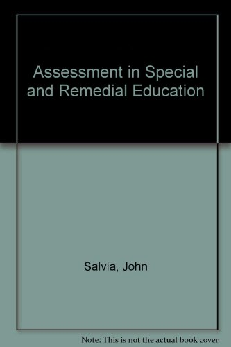 Assessment in Special and Remedial Education