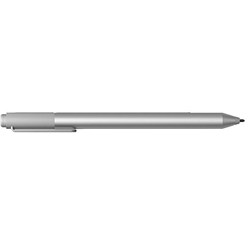 Microsoft Surface Pen for Surface Book, Pro 4, Pro 3, Surface 3 (Silver - 3XY-00001) (Non-Retail Packaging) (Microsoft Surface Pen V4 Bluetooth Stylus Pc Black)
