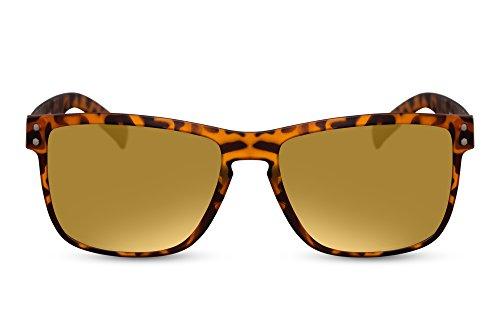 Sol 011 de Oro Nerd Cheapass Ca Hombre Mujer Wayfarer Gafas aERTxw8qS