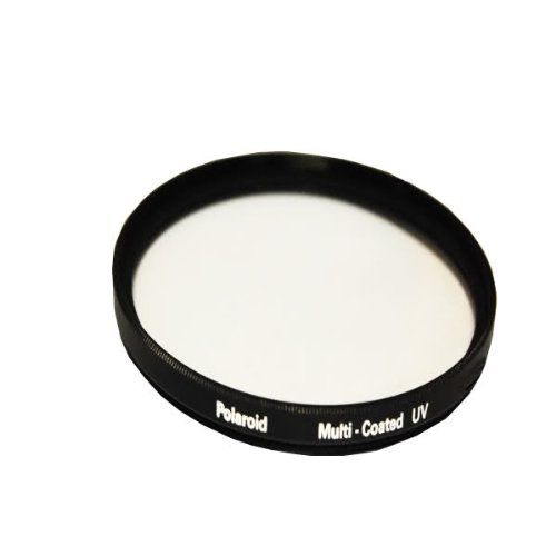 Polaroid Optics Multi-Coated UV Protective Filter For The Canon VIXIA HF M400, M40, M41, M52, M50, M500 Camcorder PLFILUV3436