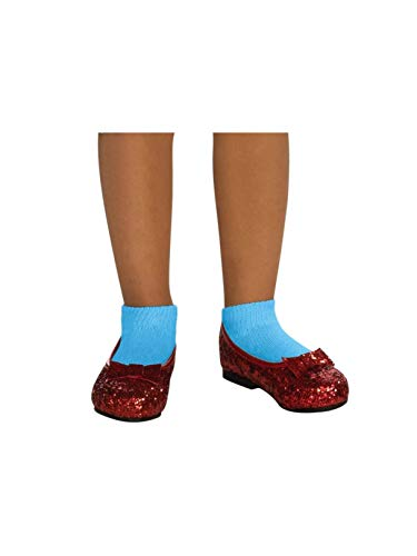 Wizard of Oz Dorothy Deluxe Ruby Red Costume Shoes, Small -