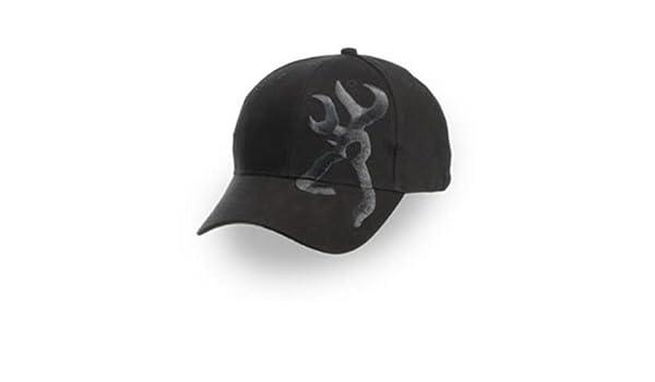 Browning - Gorra de hombre Negra 308008991: Amazon.es: Deportes y aire libre