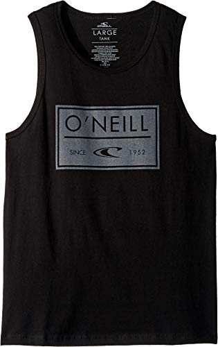 (O'Neill Kids Boy's Case Tank (Big Kids) Black)