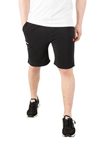 ellesse Men's Noli Fleece Sweat Shorts, Black, Small