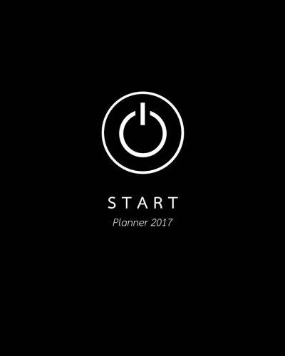 START : Planner 2017 ; Start of something new / 12 Months of 2017 / 8