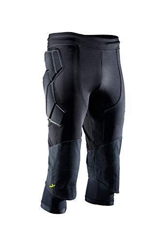 Storelli ExoShield Goalkeeper 3/4 Pants 2, Black, Medium