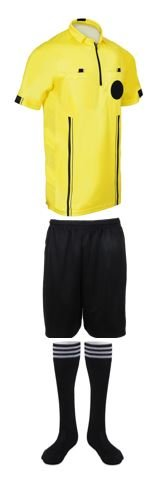 - NEW! 2018 Pro Soccer Referee Package (3 Piece) (Yellow, Adult Small)