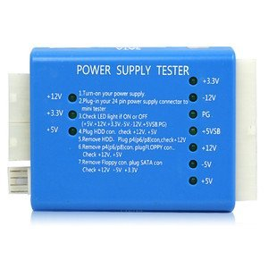 SMPS POWER SUPPLY TESTER Pc 20 24 Pin PSU ATX Sata Hd: Amazon.in ...
